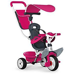 Le tricycle baby balade 2 est de la marque Smoby.