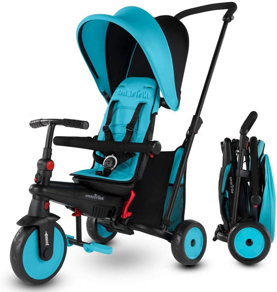 Le tricycle bébé Smart Trike STR3 est 6 en 1.