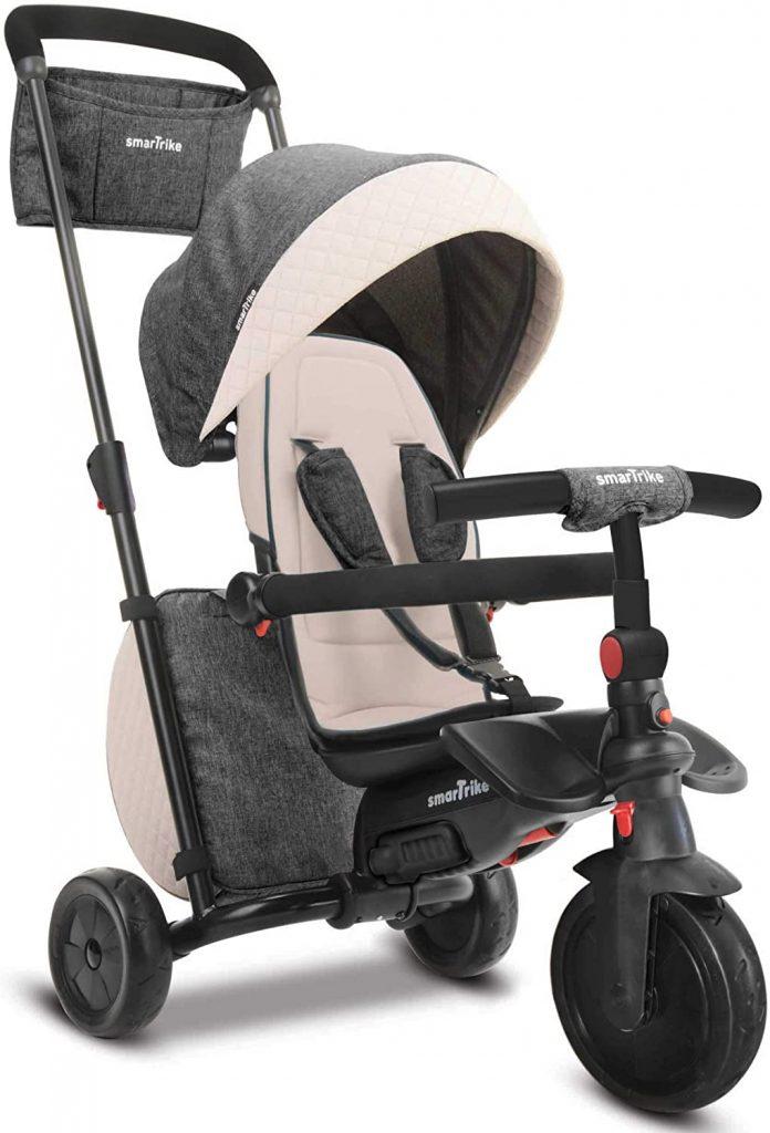 Ce tricycle bébé offre un très beau design.