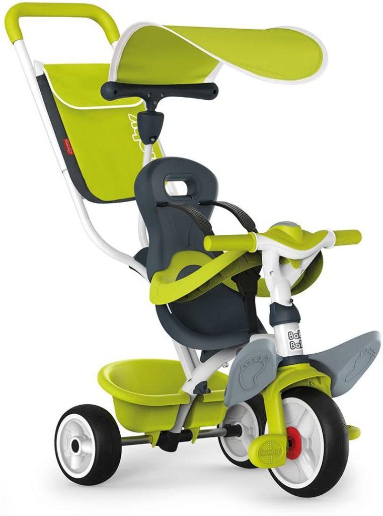 Le tricycle Baby Balade 2 existe en plusieurs coloris.