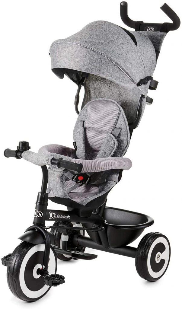 Le tricycle Kinderkraft ASTON peut s'utiliser jusqu'aux 5 ans de votre enfant.