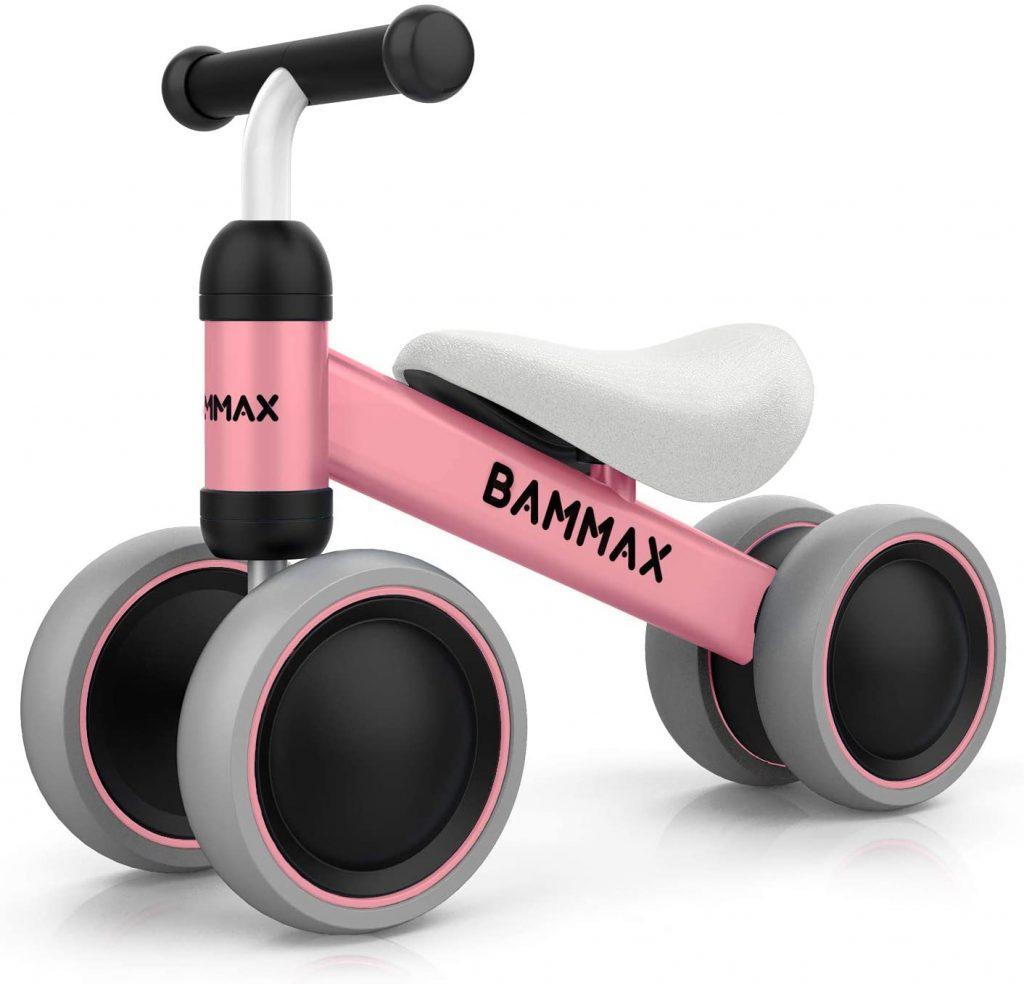 Ce vélo draisienne pour bébé est disponibles en plusieurs coloris.