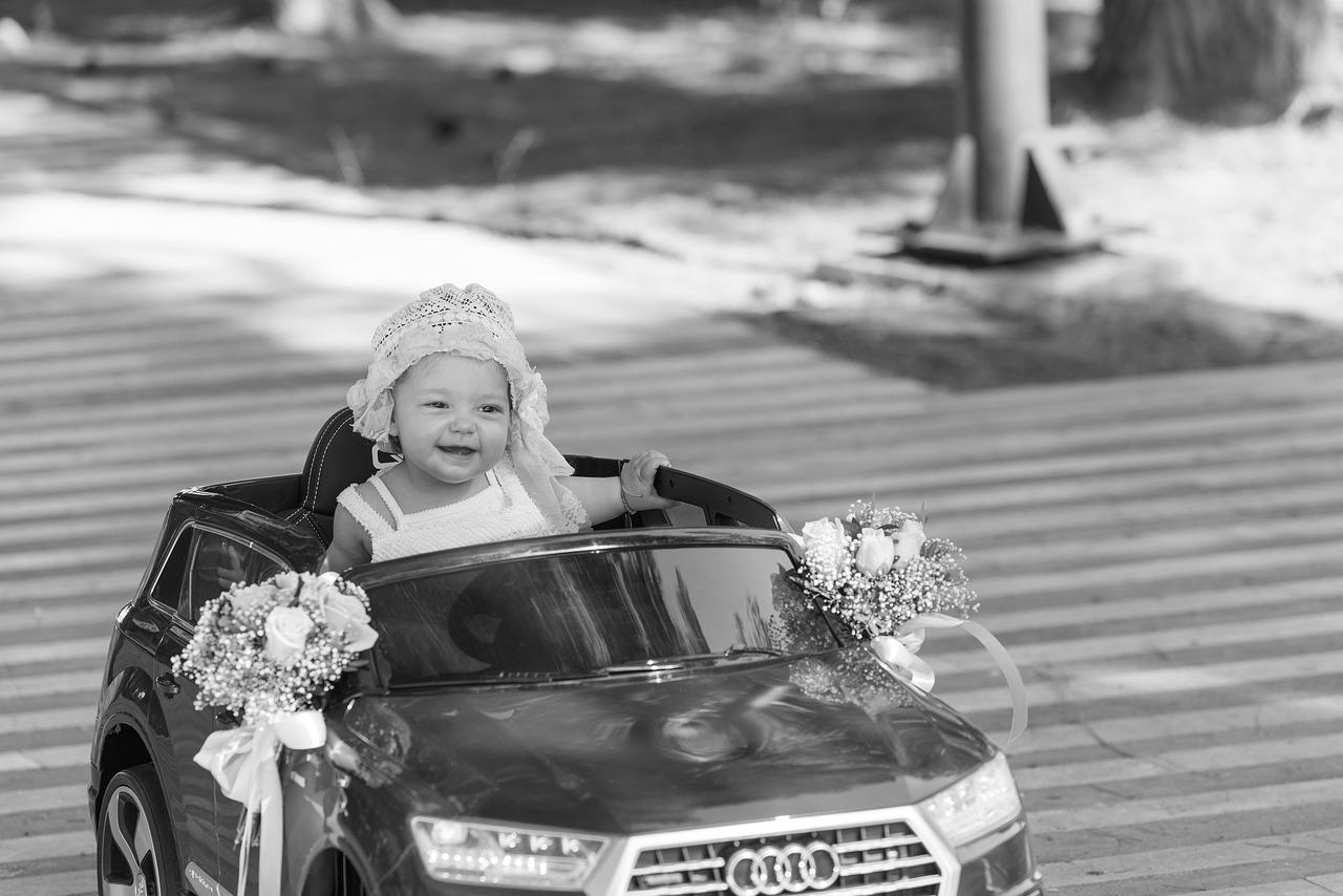 La voiture électrique enfant peut s'utiliser dès 3 ans.