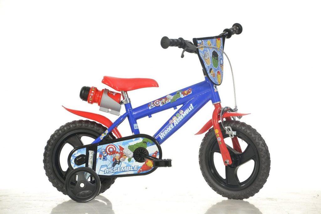 Ce vélo enfant Avengers est un 14 pouces.