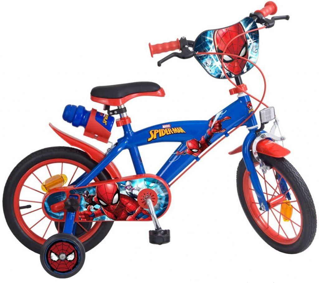 Ce vélo Spiderman est un 14 pouces.