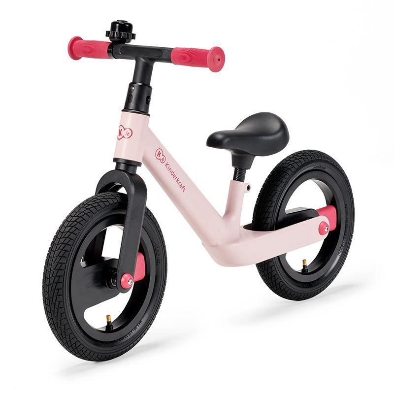 Cette draisienne Goswift Kinderkraft est de couleur rose.