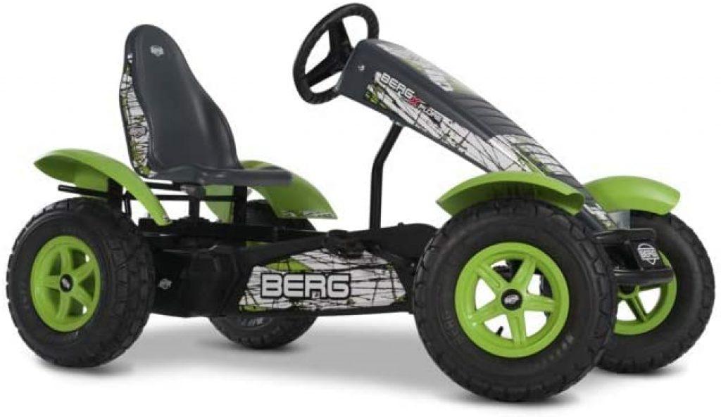 Le kart à pédales BERG X-Plorer convient dès 5 ans.