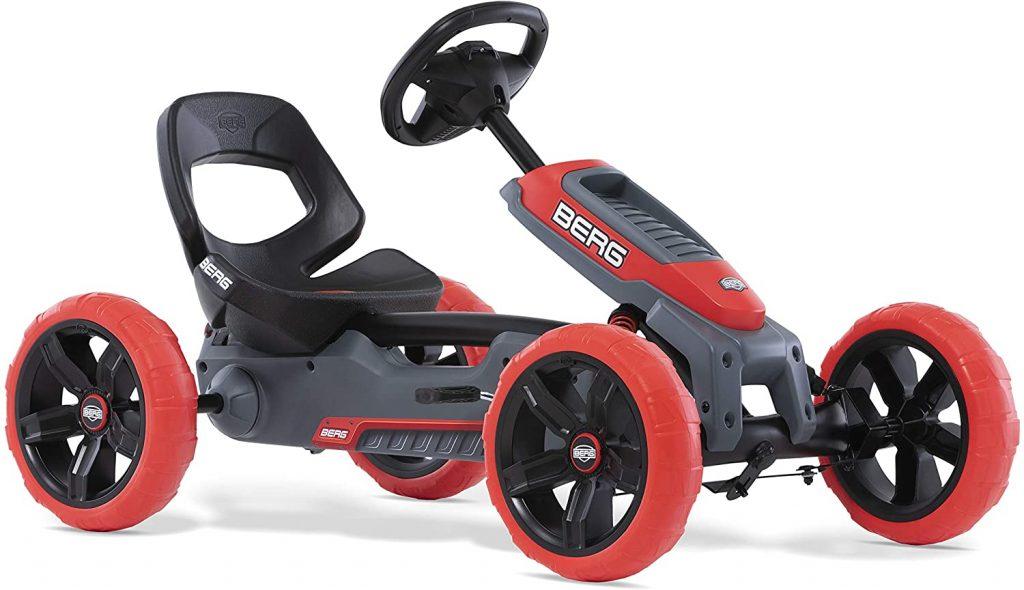 Ce kart BERG Reppy est de couleur rouge et noire.