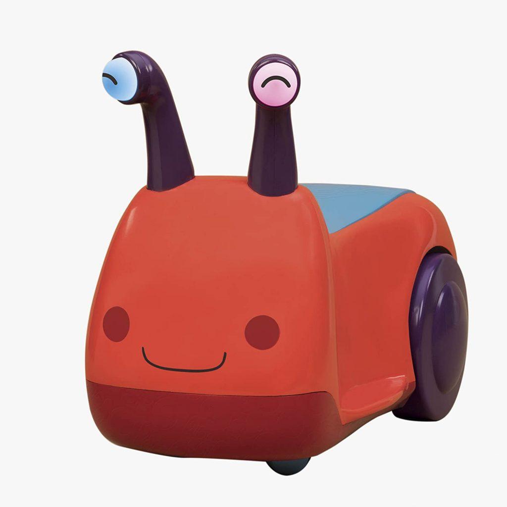 Ce porteur bébé représente un escargot.